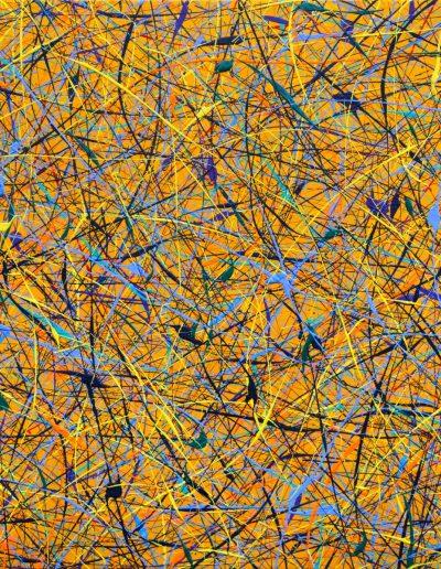210 | Recondite Armonie 2016 50x50 | Acrilico su tela